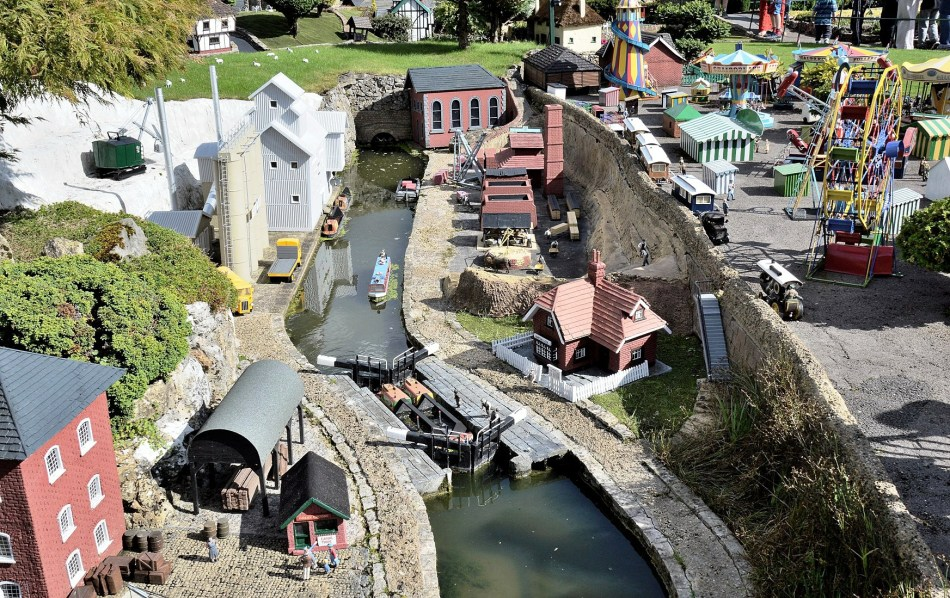 Bekonscot Model Village Canal