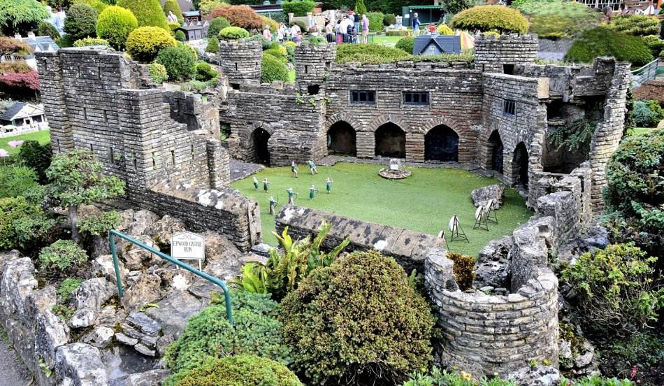 Bekonscot Model Village Ruined Castle