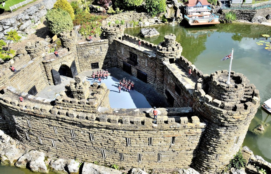Bekonscot Model Village Castle