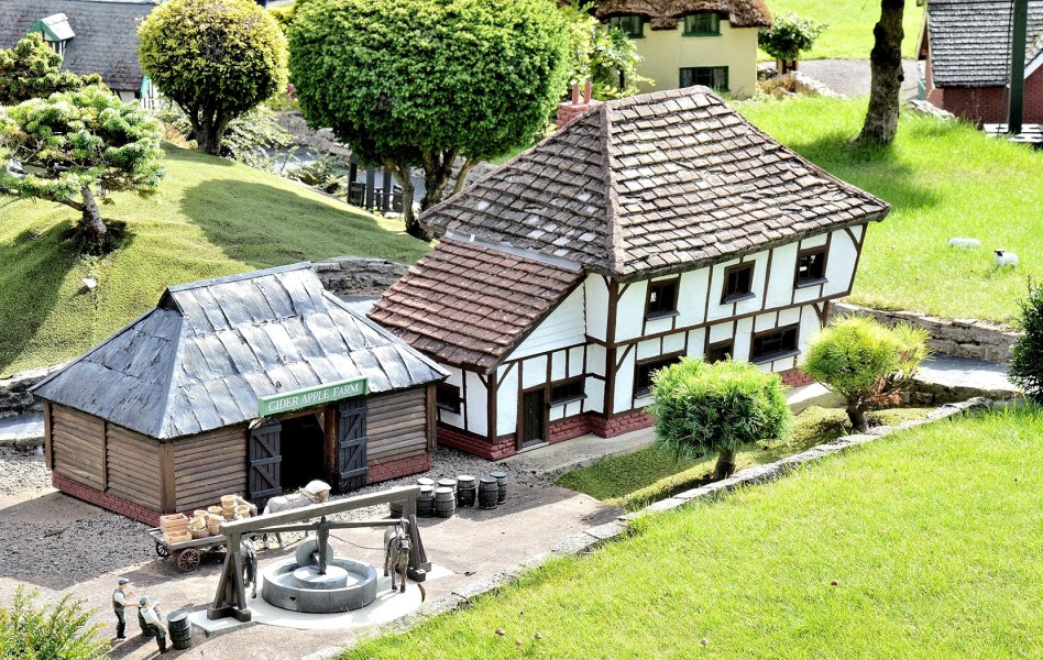 Bekonscot Model Village Cider Farm