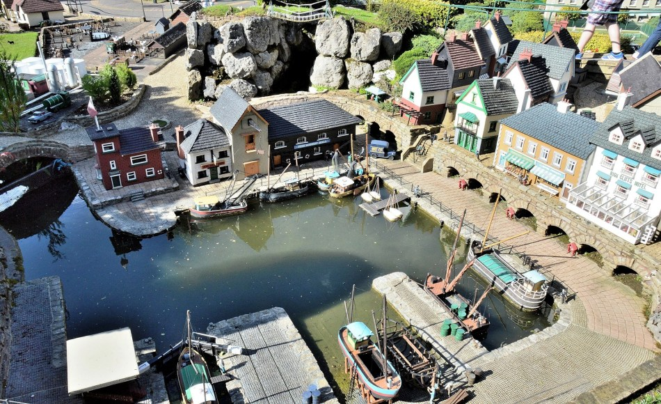 Bekonscot Model Village Harbour