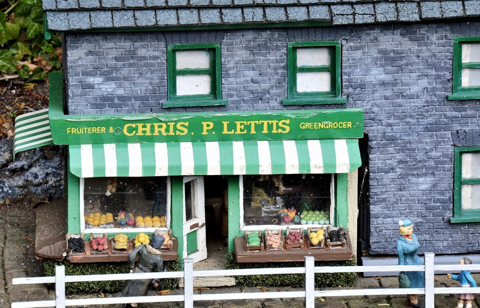 Bekonscot Model Village Grocer