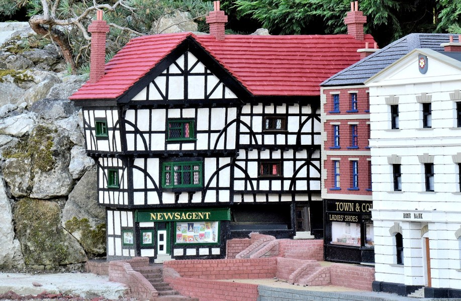 Bekonscot Model Village Newsagent