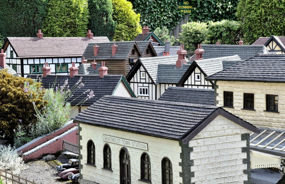 Bekonscot Model Village Railway Station