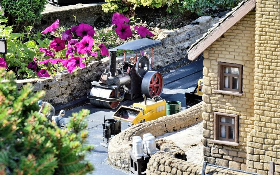 Bekonscot Model Village Steam Roller