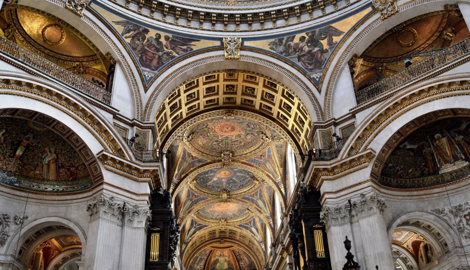 St Paul's Cathedral Ceiling 2