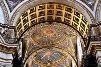 St Paul's Cathedral Ceiling 3