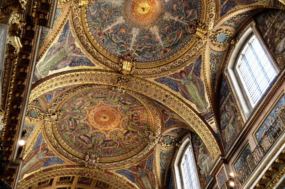 St Paul's Cathedral Ceiling 5