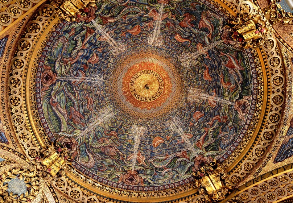 St Paul's Cathedral Ceiling Feature 4