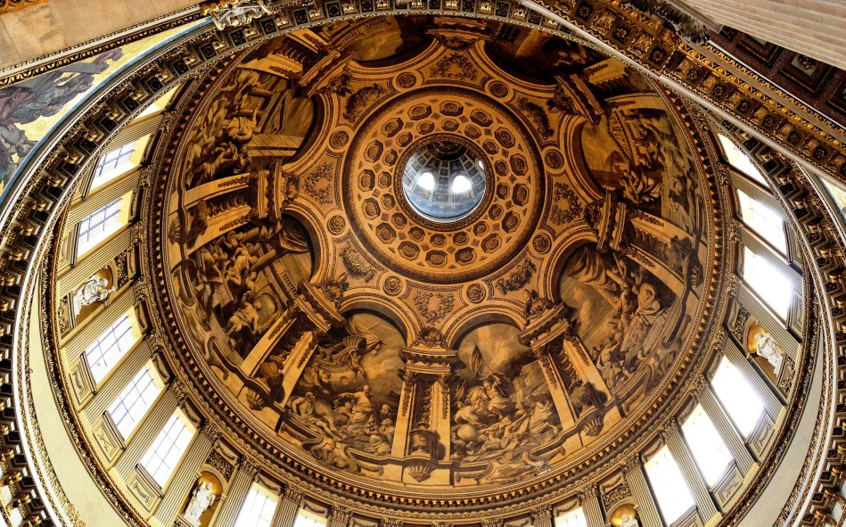 St Paul's Cathedral Inside Dome 1