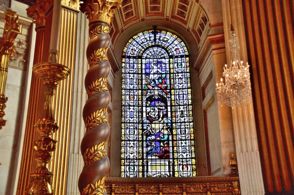 St Paul's Cathedral Stained Glass