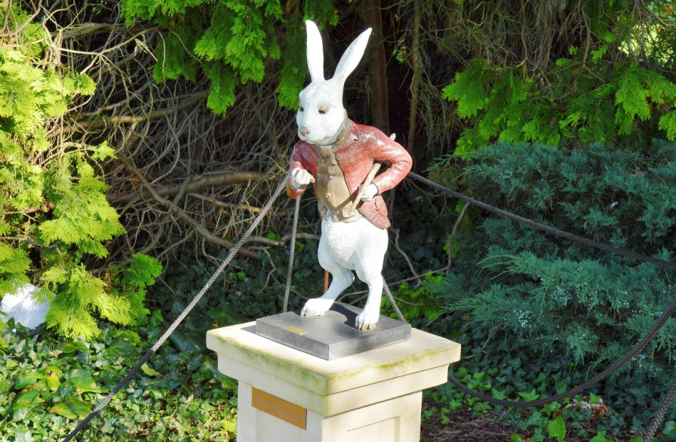 White Rabbit at Wisley Gardens