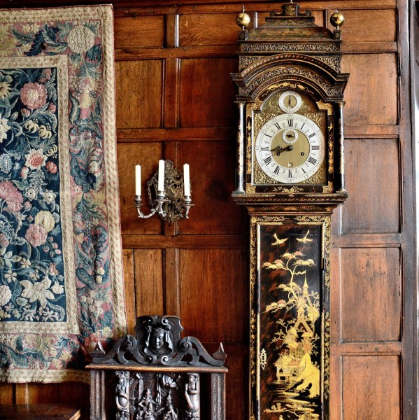 Grandfather Clock at Hatfield House