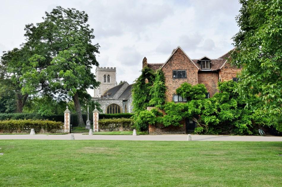 Hatfield House,Church