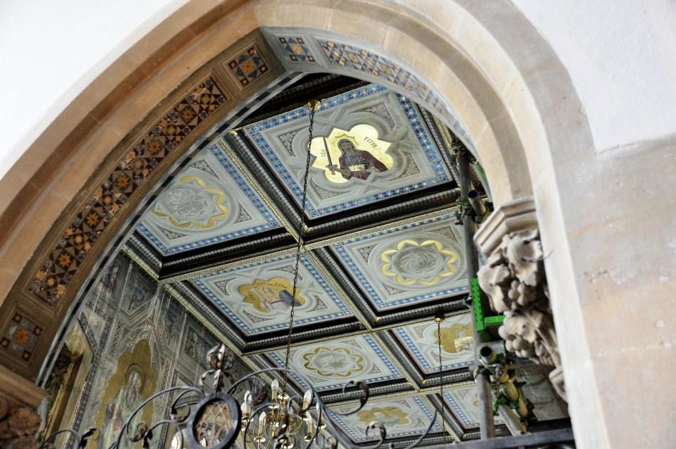 Hatfield House,Inside Church