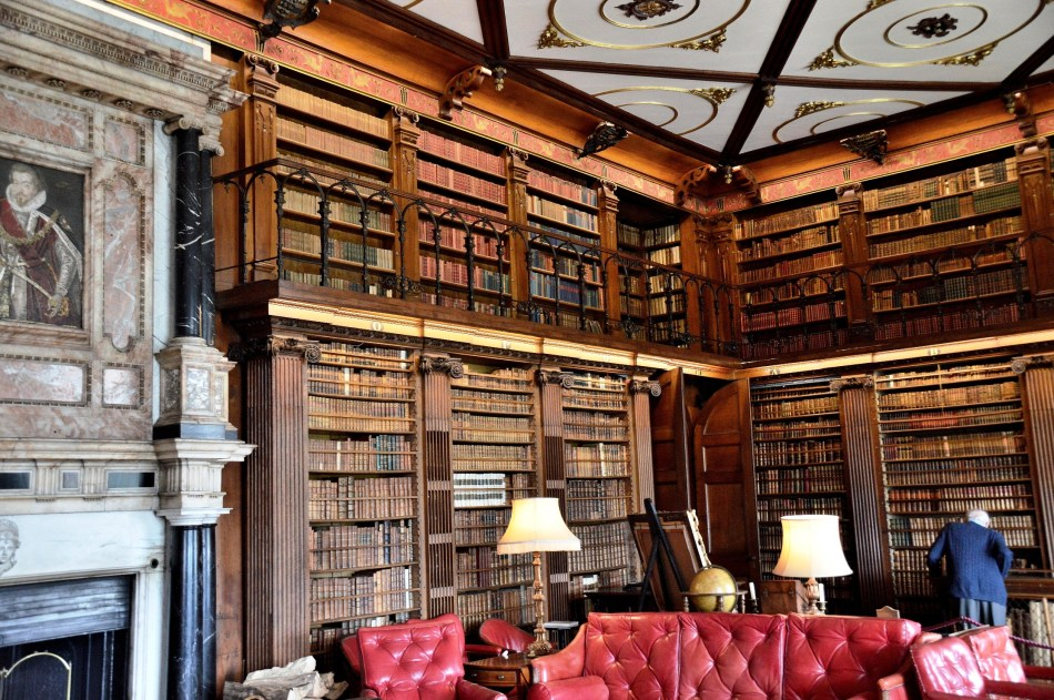 Library at Hatfield House