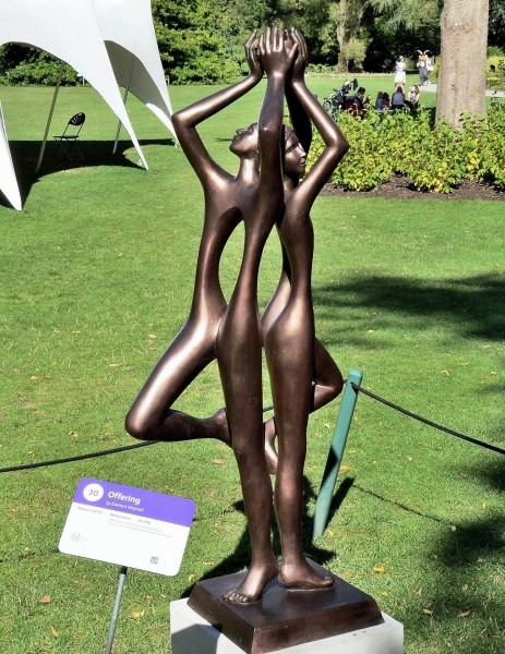 Offering by Everard Meynell at Wisley Gardens