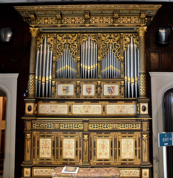 Organ at Hatfield House