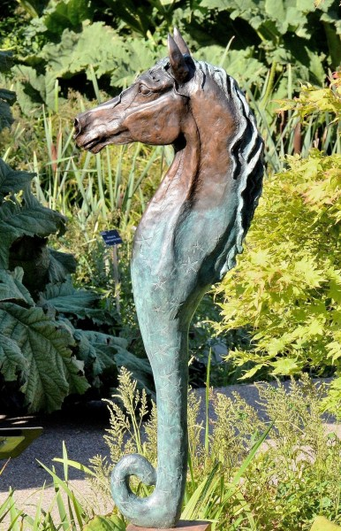 Sea Horse in Rockery at Wisley Gardens