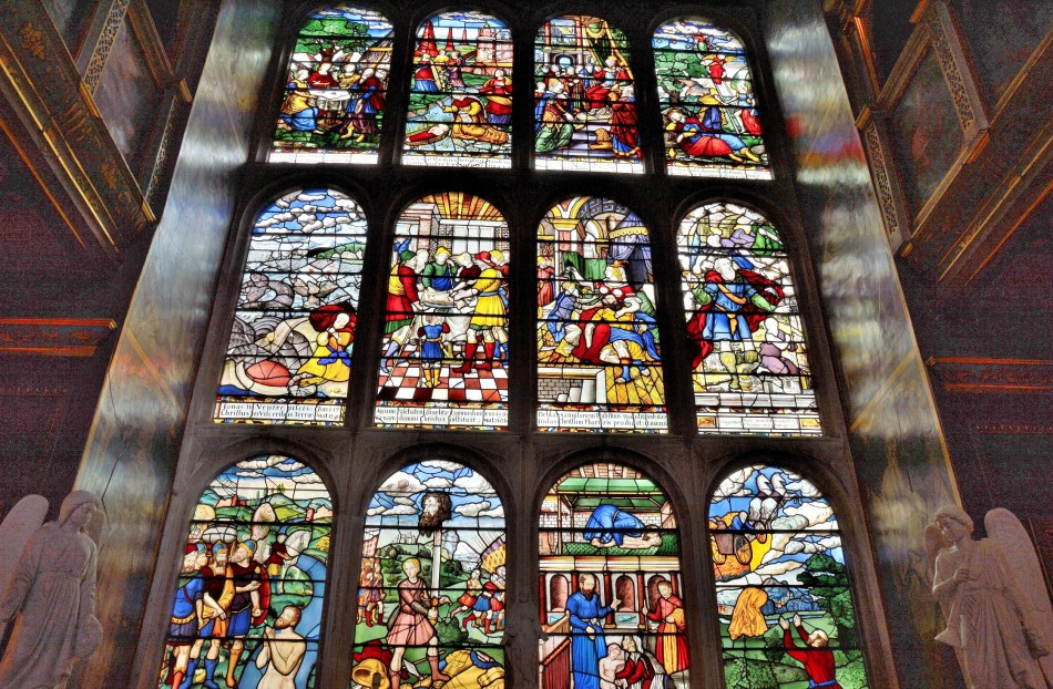 Stained Glass at Hatfield House