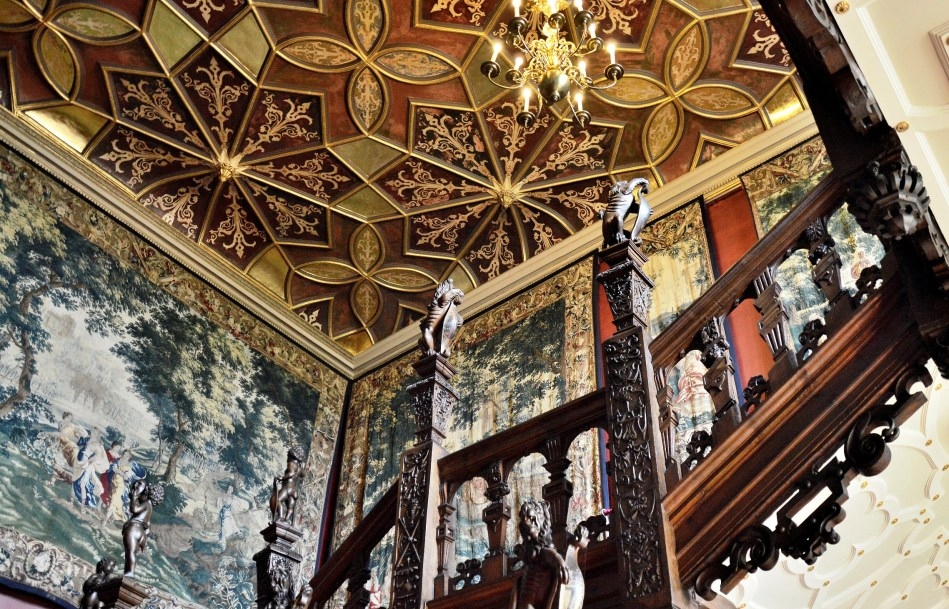 Staircase at Hatfield House