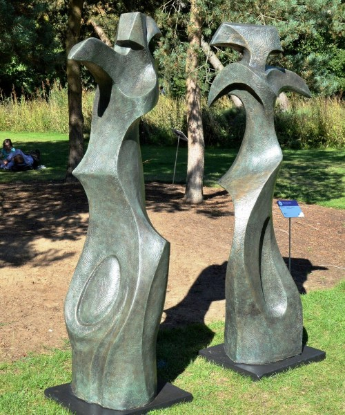 The Dancers by Lilly Henry at Wisley Gardens