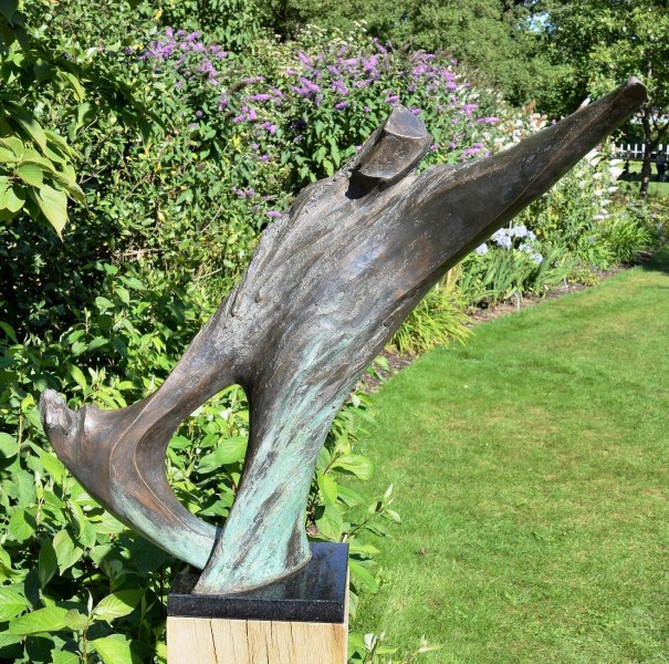 Time to Go by Lynn Warren at Wisley Gardens