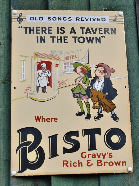 Bisto Old Advertising Sign