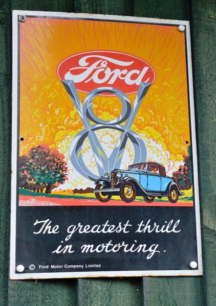 Ford Old Advertising Sign