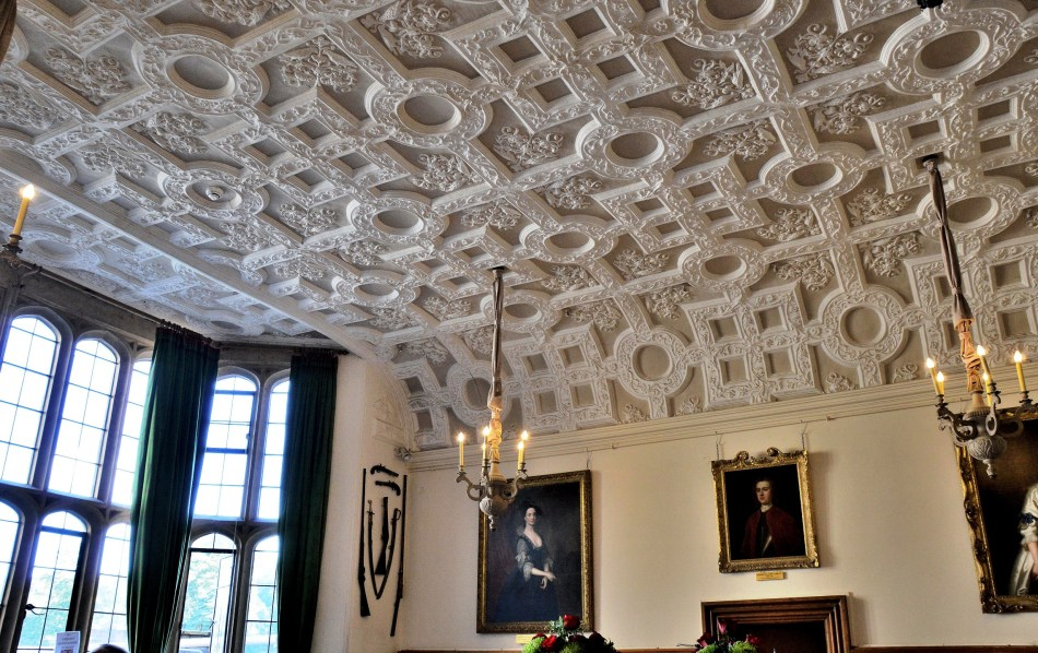 Leeds Castle Ceiling