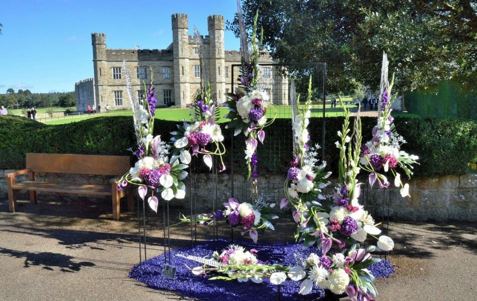 Leeds Castle Flower Festival - DSC_0386