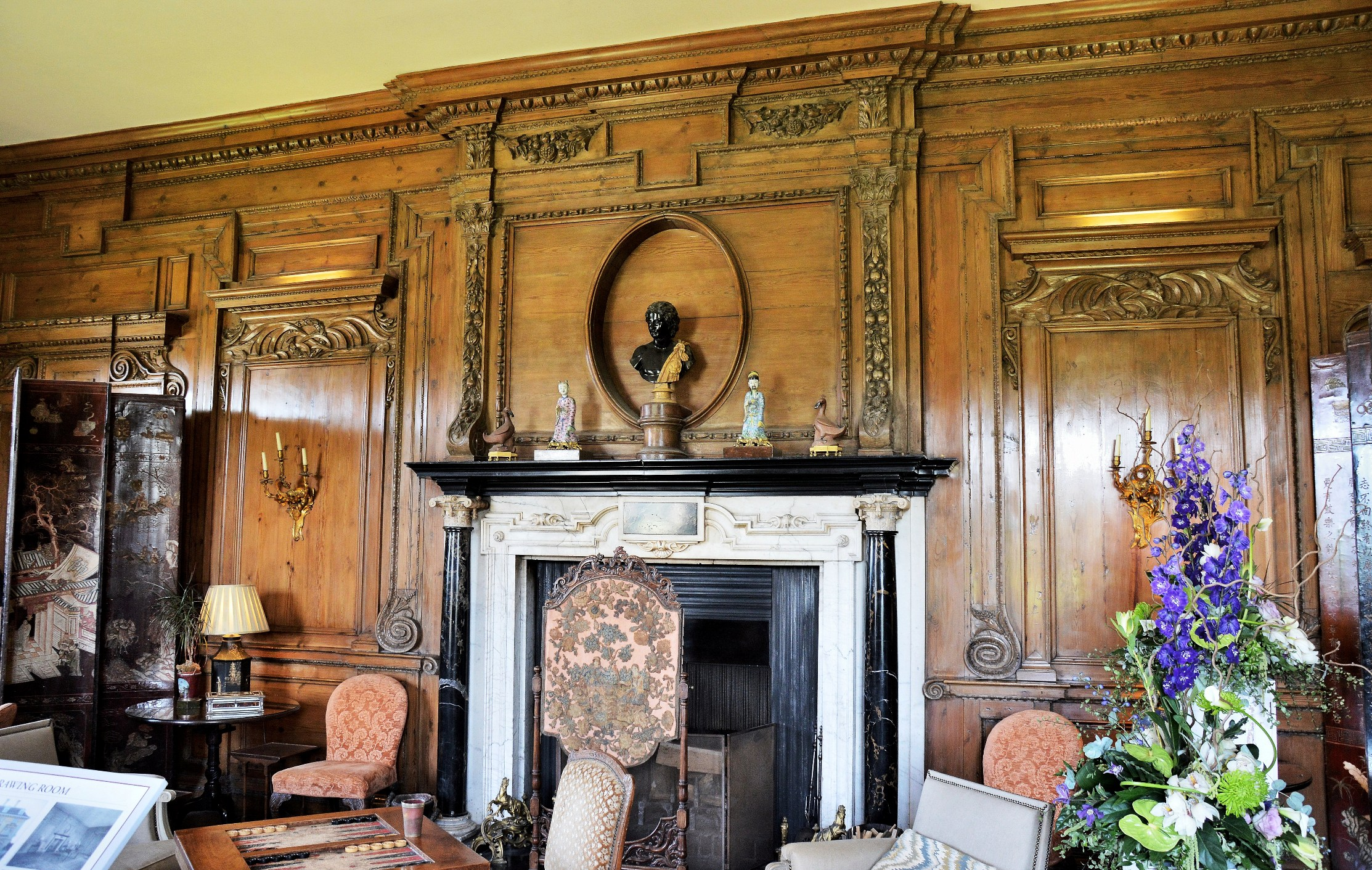 Leeds Castle Interiors Freed From Time