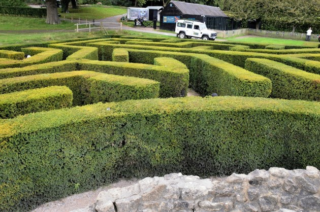 Maze at Leeds Castle