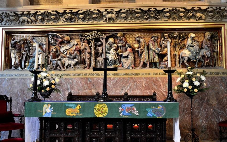 Waltham Abbey Church Altar and Fresco