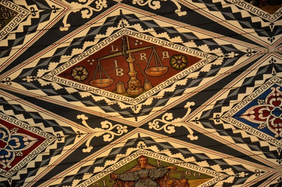 Waltham Abbey Church Ceiling 1