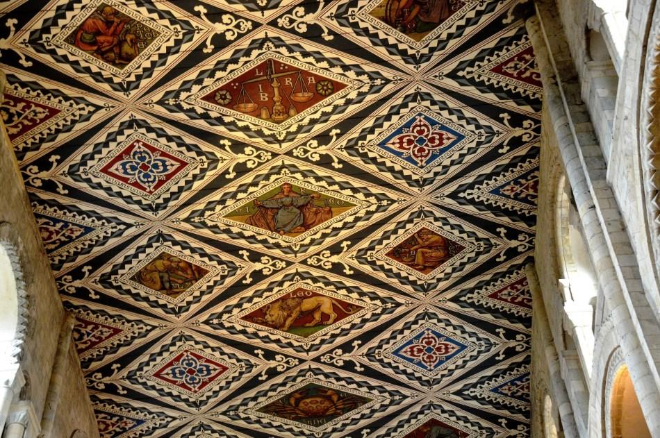 Waltham Abbey Church Ceiling 2