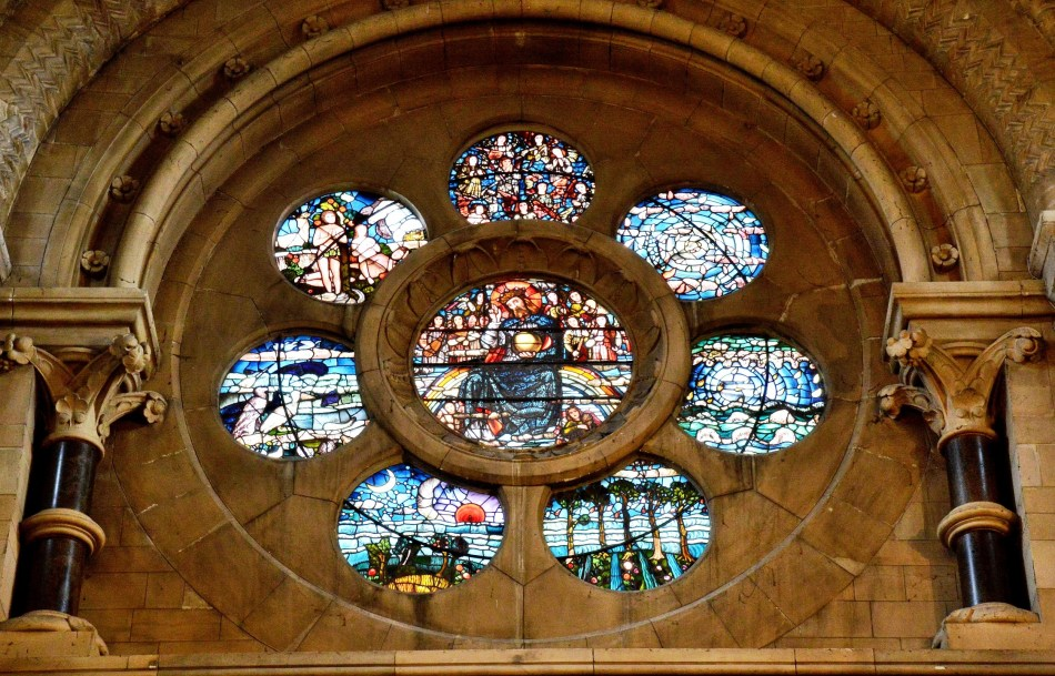 Waltham Abbey Church Stained Glass 1