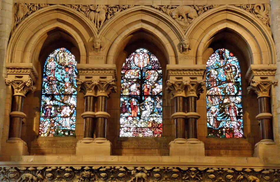 Waltham Abbey Church Stained Glass 2
