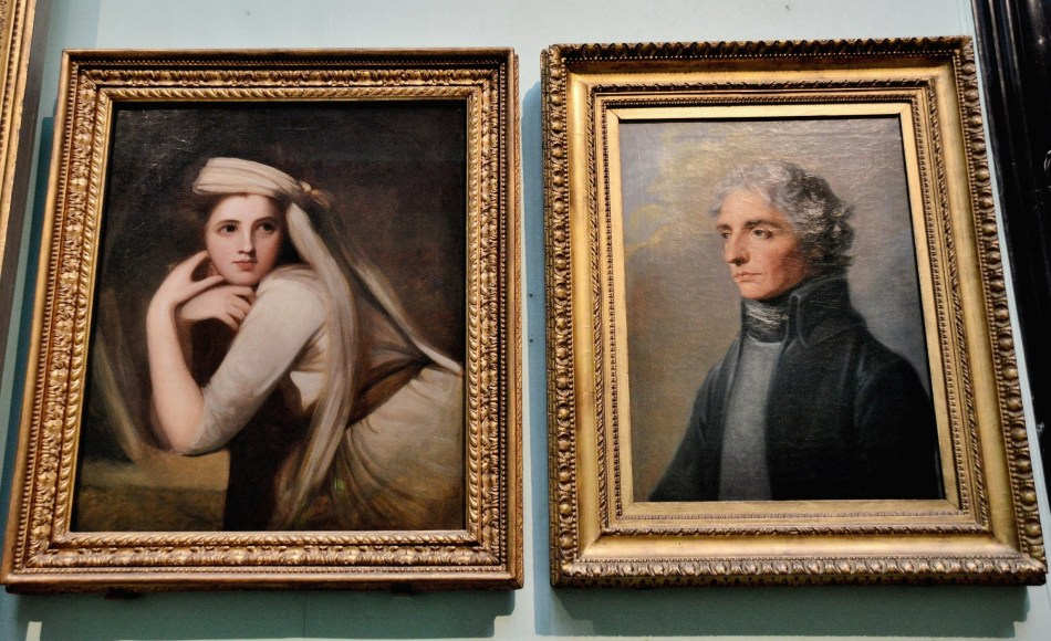 Lasy Hamilton and Lord Nelson