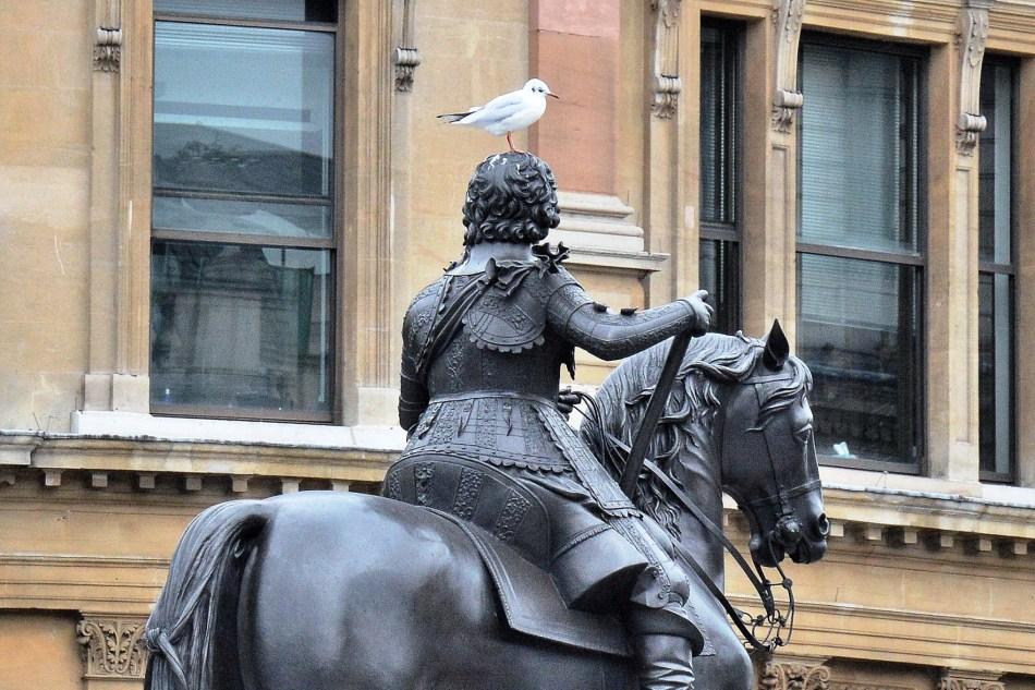 Statue at Trafalgar Square