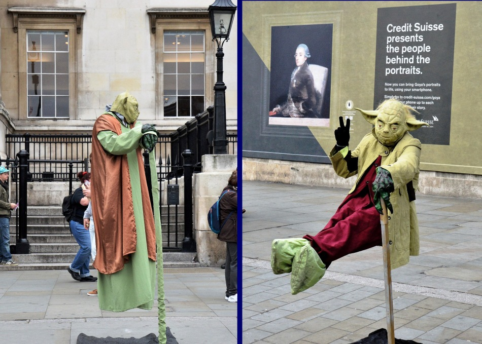Yoda at Trafalgar Square copy