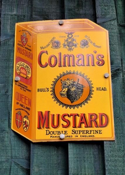 Colman's Mustard Vintage Advertising Sign