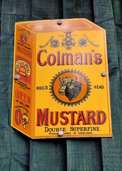 Colman's Mustard Vintage Advertising Sign