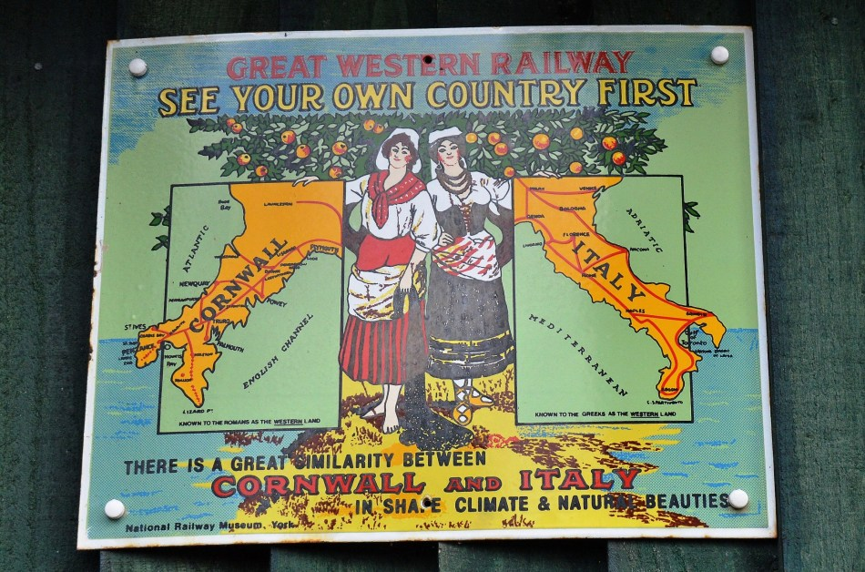 Great Western Railway Vintage Advertising Sign