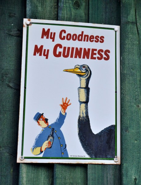 Guiness Vintage Advertising Sign