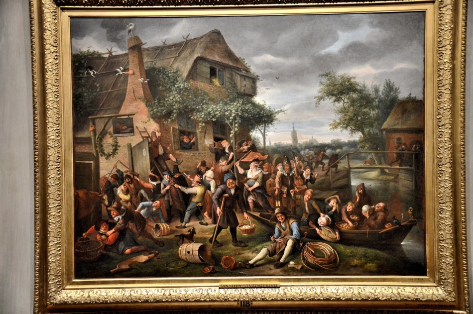 A Village Revel by Jan Steen