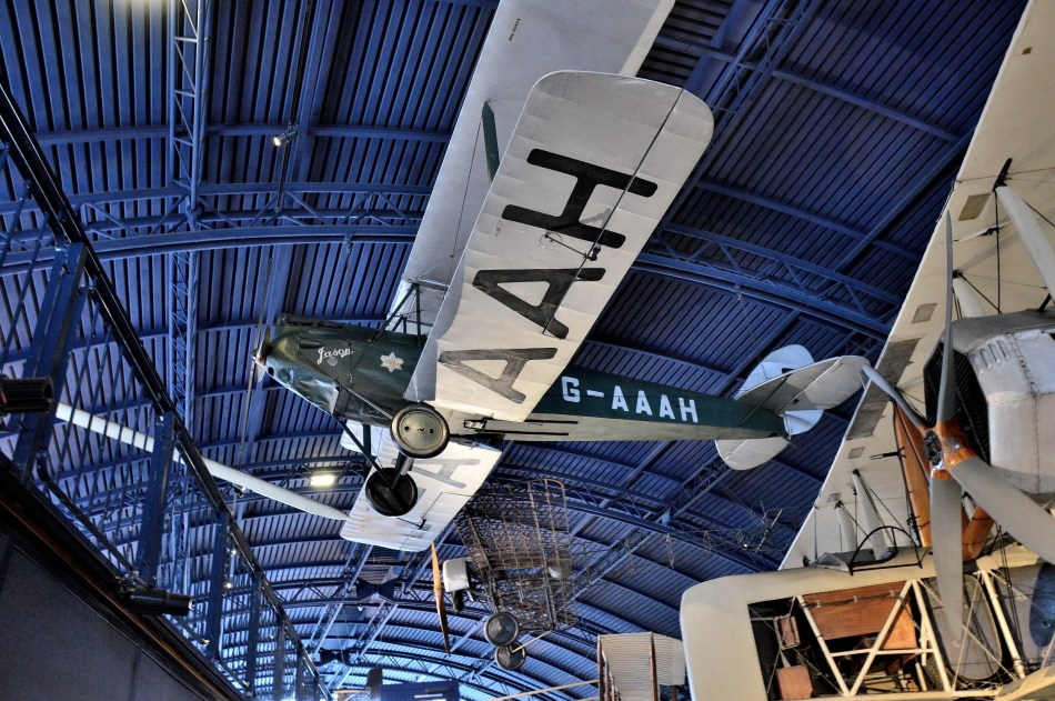 Amy Johnson's Jason Aeroplane London Science Museum