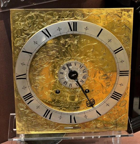 Antique Clock Face at Science Museum