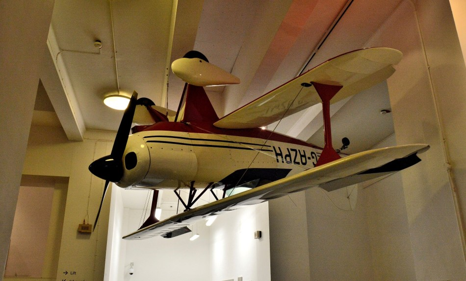Arobatic Aircraft at London Science Museum
