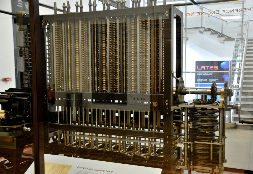 Babbage's Difference No 2 at London Science Museeum